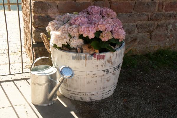 FassStolz® Blumenkübel – White Vintage