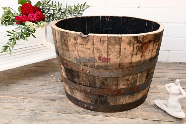 Blumenkübel - 1/2 Bourbonfass