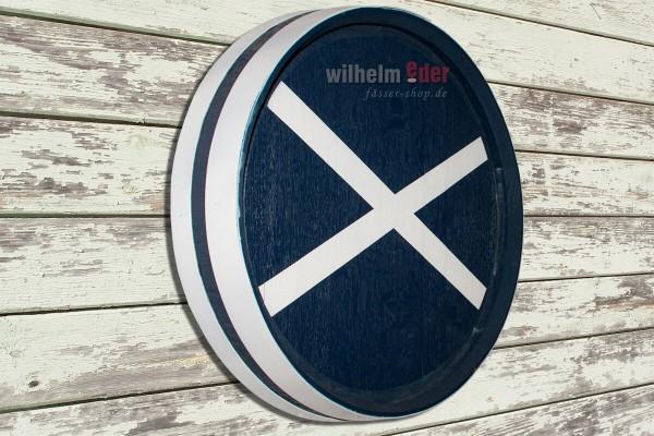 Fasskopfabschnitt - Schottland - ø 58 cm