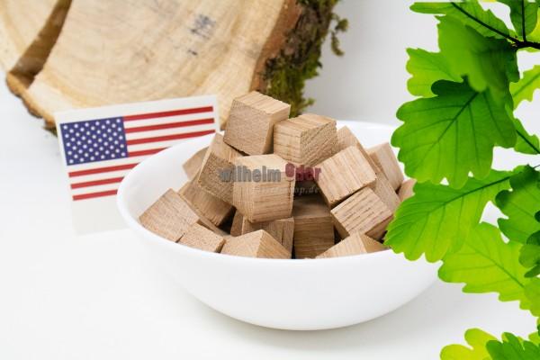 Cubes aus Eichenholz - Amerikanisch nicht getoasted