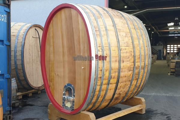 Eichenholzfass 4300 l oval gebraucht – überarbeitet