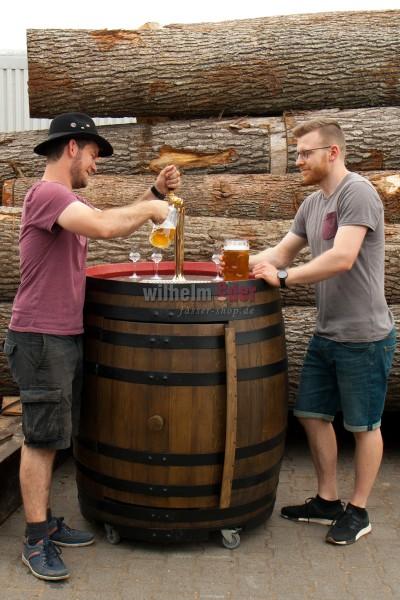 Zapffass für Bier