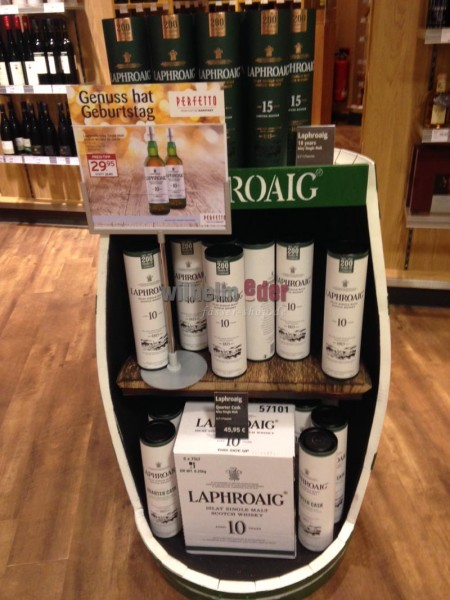 Laphroaig Beam Suntory Display