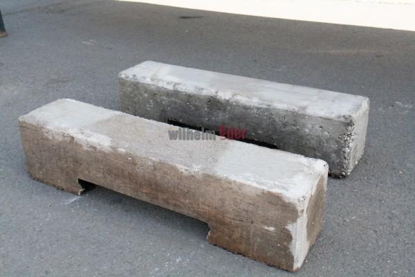 Fasslager aus Beton bis zu 6000 l - gebraucht