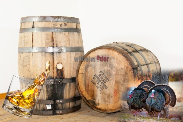 Bourbonfass 190 l - Wild Turkey