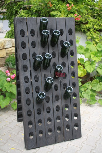 Rüttelpult für 120 Flaschen - schwarz