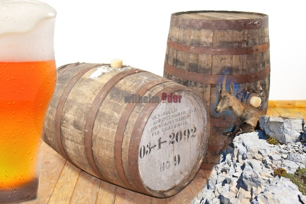 Rum and Stout Fass 190 l