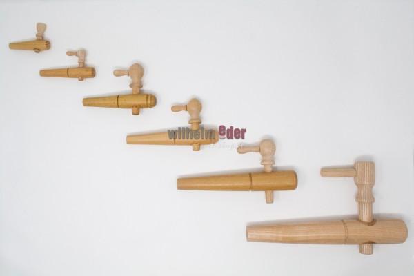 Zapfhahn aus Holz
