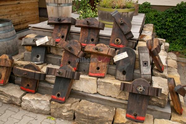 Holztürchen mit Querriegel zur Deko