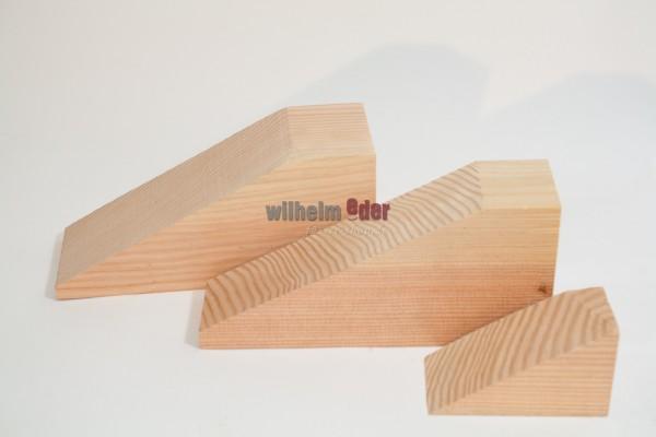 Fass-Schließen aus Lärchenholz