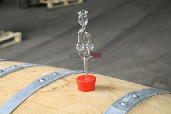Gärröhre aus Glas für Fässer 225 - 500 l