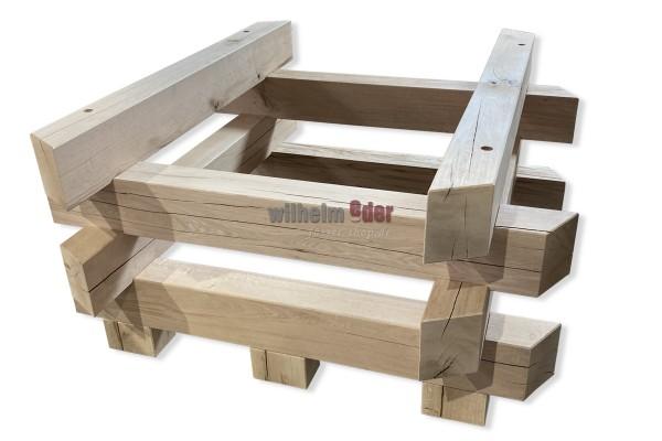 Holzfasslager für Gärbottich