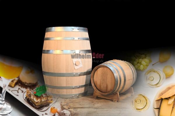 Weißweinfass 30 l - 100 l - Spätlese - vorbelegt
