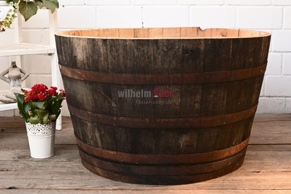 Blumenkübel - 1/2 300 - 350 l Weinbrandfass