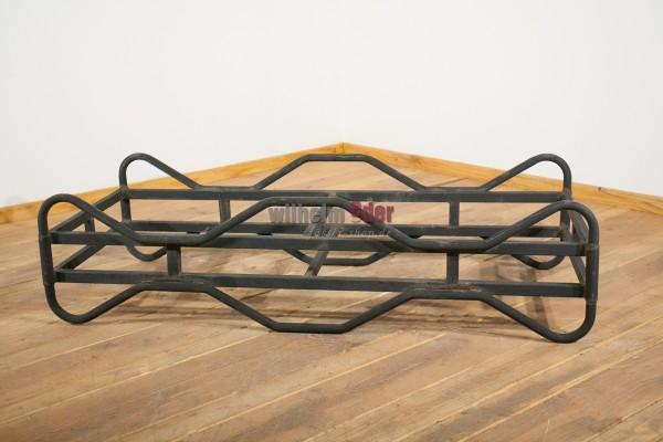 Metallfasslager schwarz lackiert für 225 l Fässer - gebraucht
