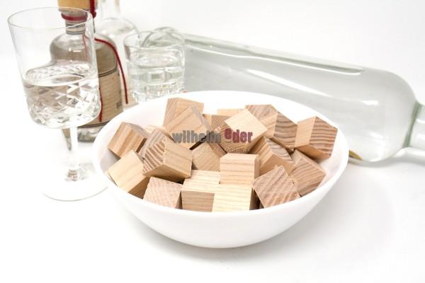 Cubes aus Eschenholz
