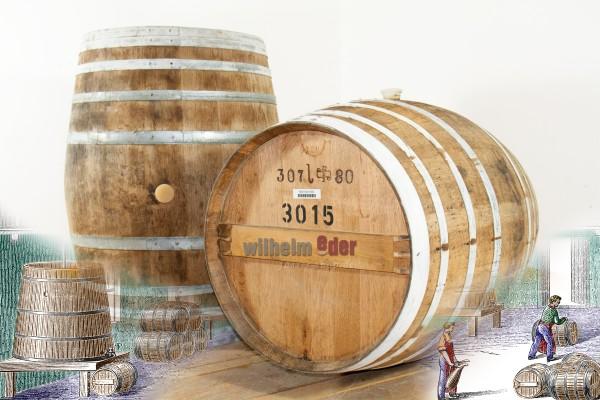 Weinbrandfass 300 l - 350 l - Deutschland