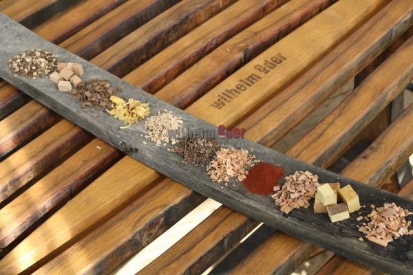 Holz Alternativen - Proben