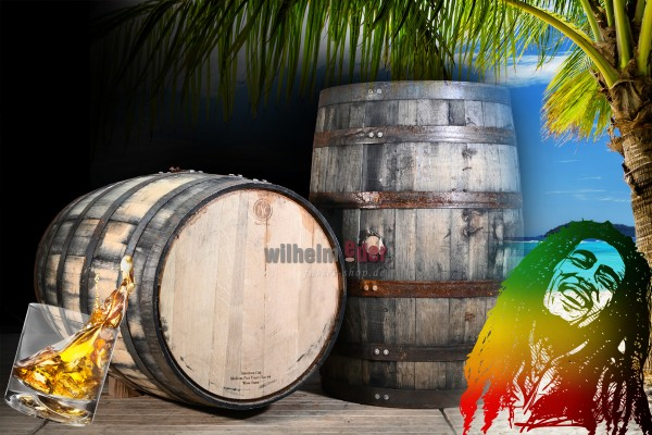 Rumfass 190 l - Virgin oak - Jamaika